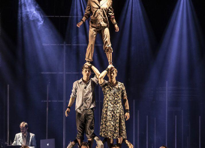 Circus Skills Teaching Acrobatics