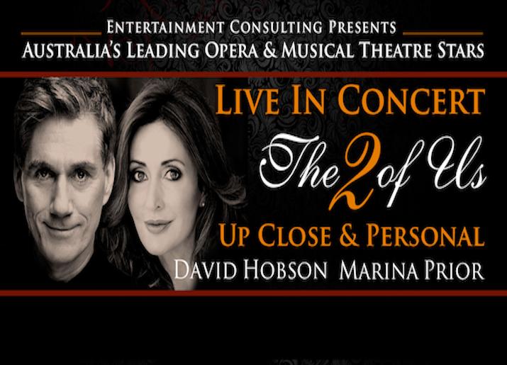 MARINA PRIOR & DAVID HOBSON 'THE 2 OF US'