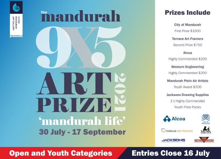 Mandurah 9×5 Art Exhibition
